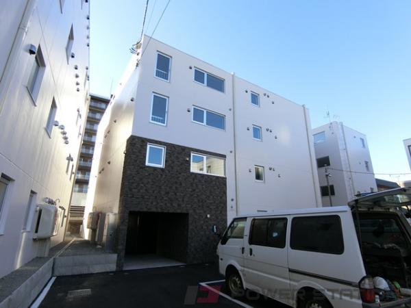 札幌市厚別区厚別中央2条6丁目0賃貸マンション外観写真