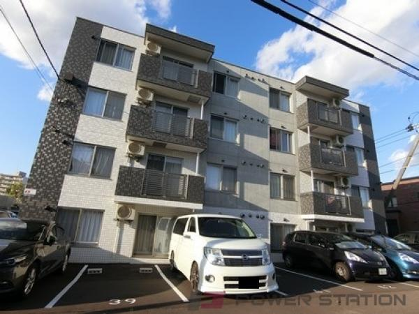 札幌市厚別区青葉町7丁目11賃貸マンション外観写真