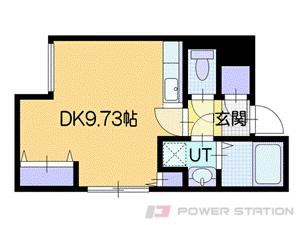 札幌市厚別区厚別中央4条2丁目11賃貸マンション間取図面