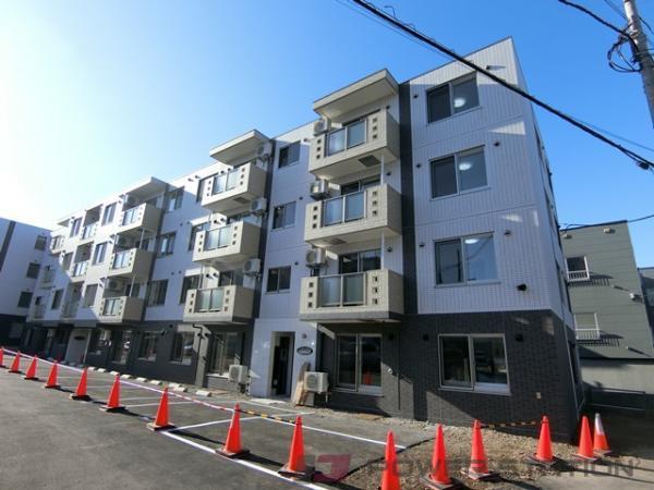 札幌市厚別区厚別中央3条3丁目11賃貸マンション外観写真