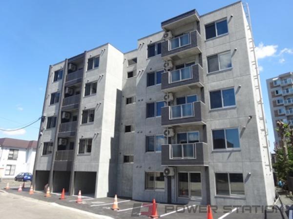 新札幌1LDKマンション外観