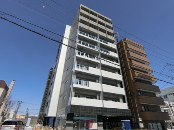 新札幌2LDKマンション外観