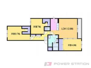 マンション・仮)厚別東4-1マンションA棟