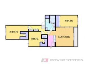 マンション・仮)厚別東4-1マンションB棟