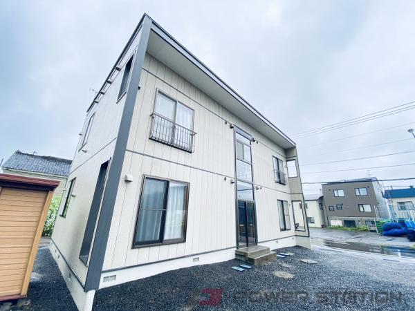 小樽市祝津3丁目0賃貸アパート外観写真