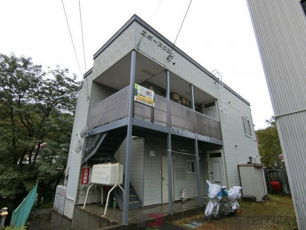 小樽市オタモイ1丁目0賃貸アパート外観写真