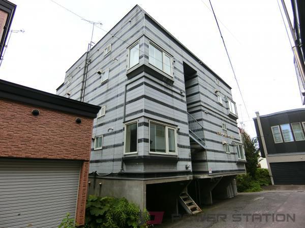 小樽市花園4丁目0賃貸アパート外観写真