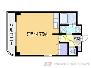 小樽市花園3丁目0賃貸マンション間取図面