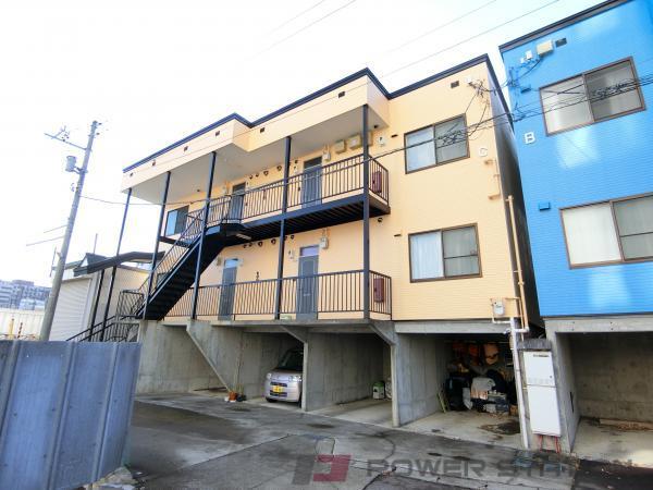 小樽市入船1丁目0賃貸アパート外観写真