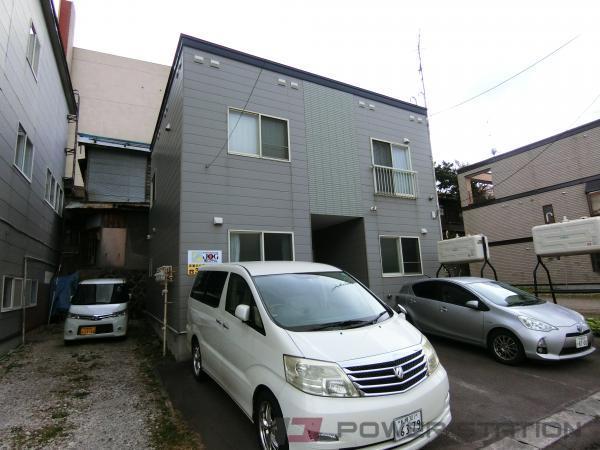 小樽市住ノ江1丁目0賃貸アパート外観写真