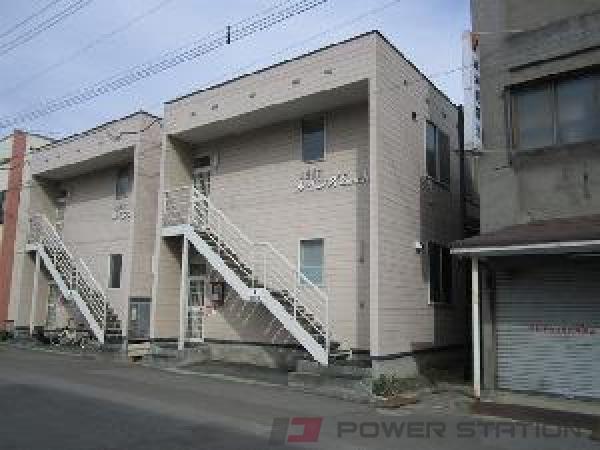 南小樽1Rアパート外観