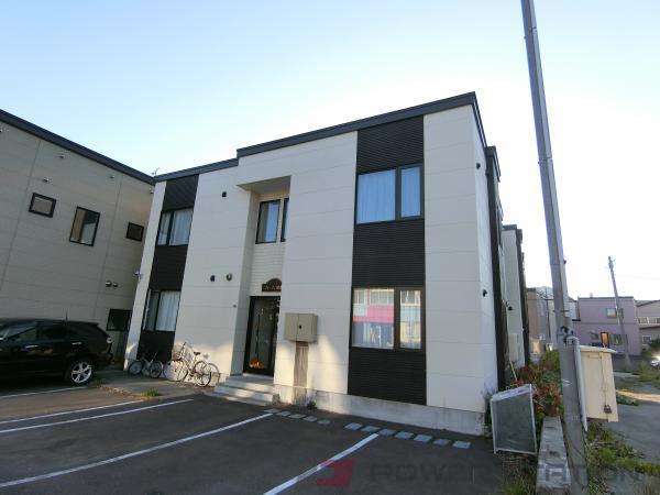 小樽市錦町0賃貸アパート外観写真