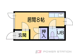 小樽1Rアパート図面