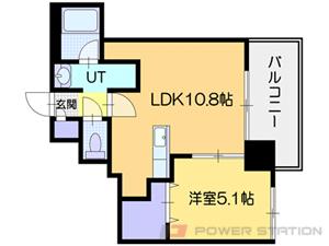 小樽市稲穂2丁目1賃貸マンション間取図面