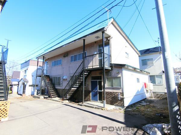小樽市若竹町1賃貸アパート外観写真