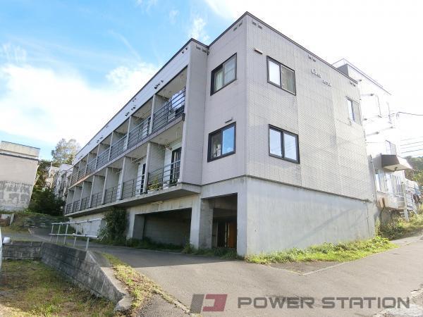 南小樽1Kアパート外観