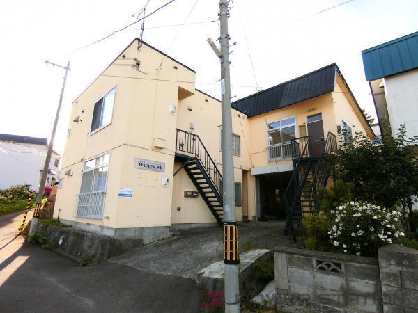 小樽市入船4丁目0賃貸アパート外観写真