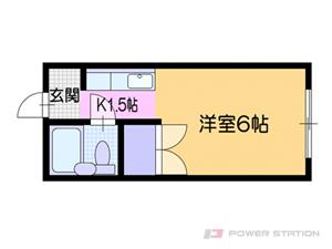 小樽市入船3丁目1賃貸マンション間取図面