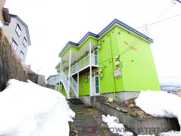 小樽市入船3丁目1賃貸アパート外観写真