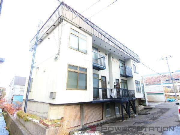 小樽市奥沢3丁目0賃貸アパート外観写真