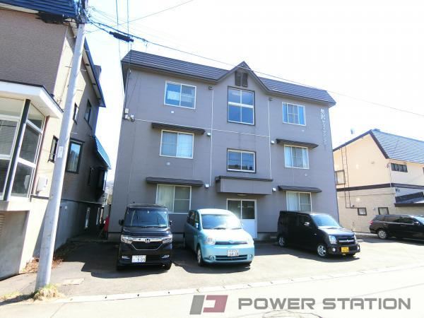 小樽市奥沢1丁目0賃貸アパート外観写真