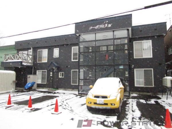 小樽市長橋4丁目0賃貸アパート外観写真