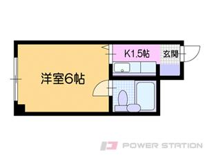 小樽市長橋3丁目1賃貸マンション間取図面