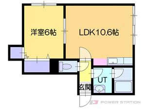 小樽市石山町1賃貸アパート間取図面