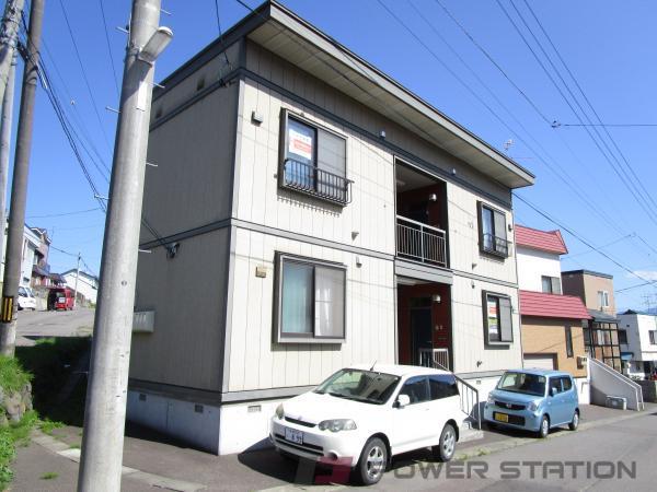 小樽市末広町0賃貸アパート外観写真
