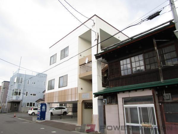 小樽市錦町1賃貸マンション外観写真