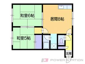 小樽市錦町1賃貸マンション間取図面