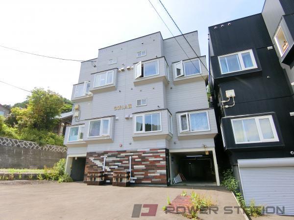 小樽市長橋1丁目1賃貸アパート外観写真