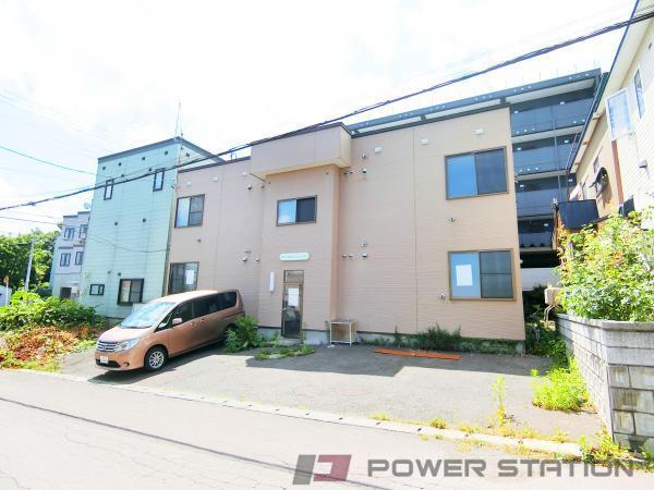 小樽市富岡1丁目0賃貸アパート外観写真
