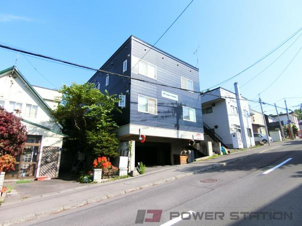 小樽市若竹町0賃貸アパート外観写真