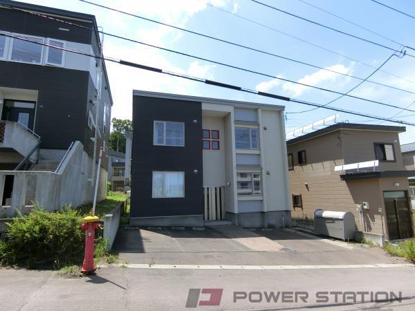 小樽築港1DKアパート外観