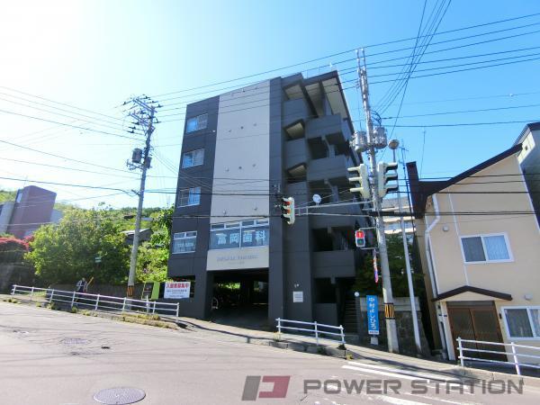 小樽市富岡1丁目0賃貸マンション外観写真