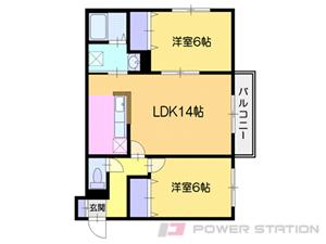 小樽市入船5丁目01賃貸アパート間取図面
