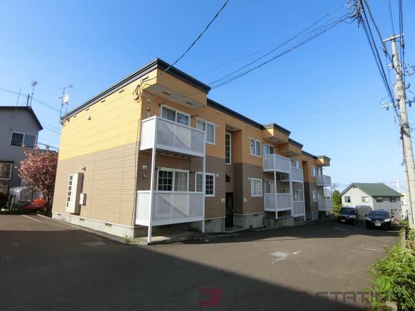 小樽市望洋台2丁目0賃貸アパート外観写真