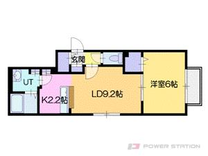 小樽市入船1丁目0賃貸マンション間取図面