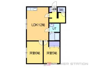 小樽市新光5丁目0賃貸アパート間取図面