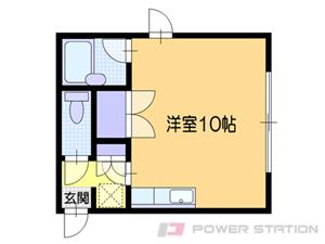 南小樽1Rマンション図面