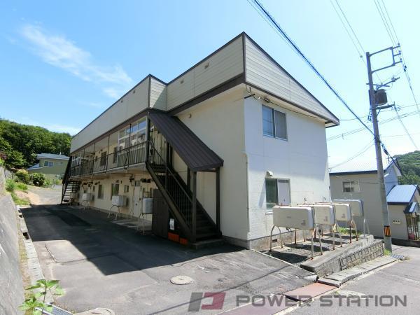 小樽市オタモイ1丁目1賃貸アパート外観写真
