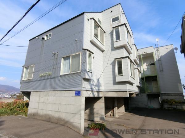 小樽市東雲町1賃貸アパート外観写真