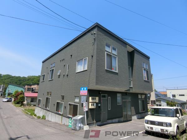 小樽市新光1丁目1賃貸アパート外観写真