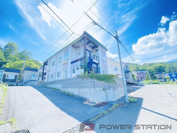 小樽築港2LDKアパート外観