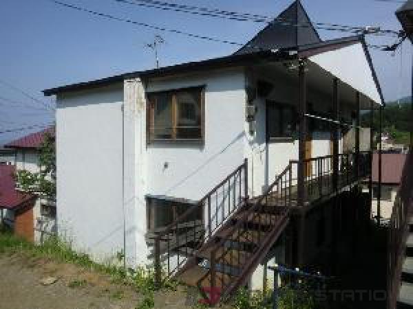 小樽築港2DKアパート外観