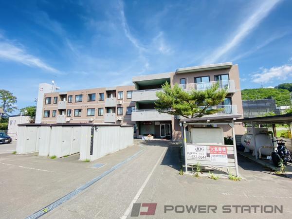 小樽市桂岡町1賃貸マンション外観写真