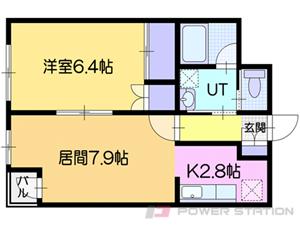 小樽市桂岡町1賃貸マンション間取図面