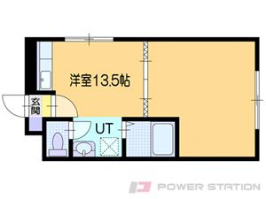 小樽市桂岡町0賃貸マンション間取図面
