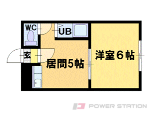 小樽市銭函2丁目0賃貸マンション間取図面